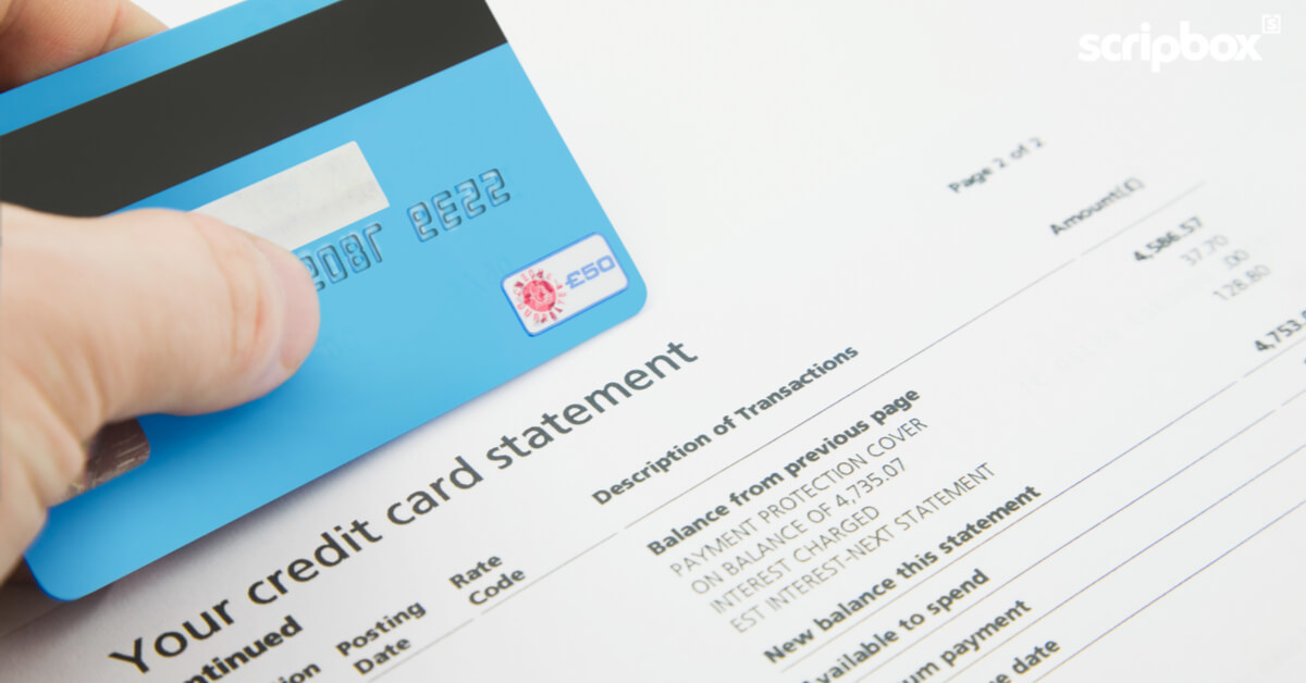 Control Your Credit Card, Before It Controls Your Life  Scripbox