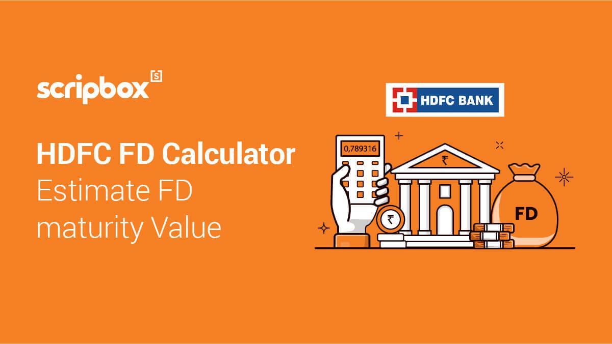 HDFC FD Calculator